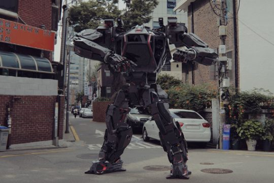 Gundam Robots in Real Life