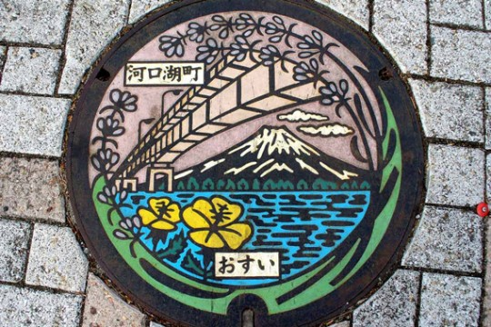 Manhole Covers in Japan