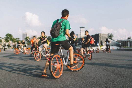 Mobikes in China