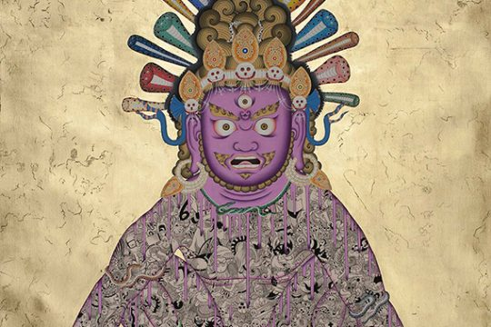 Contemporizing Thangka Art